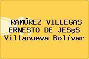 RAMÚREZ VILLEGAS ERNESTO DE JESºS Villanueva Bolívar