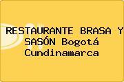 RESTAURANTE BRASA Y SASÓN Bogotá Cundinamarca