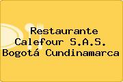 Restaurante Calefour S.A.S. Bogotá Cundinamarca