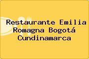 Restaurante Emilia Romagna Bogotá Cundinamarca