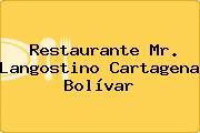 Restaurante Mr. Langostino Cartagena Bolívar