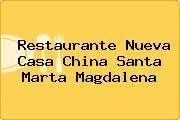 Restaurante Nueva Casa China Santa Marta Magdalena