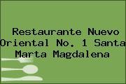 Restaurante Nuevo Oriental No. 1 Santa Marta Magdalena