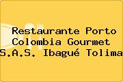 Restaurante Porto Colombia Gourmet S.A.S. Ibagué Tolima