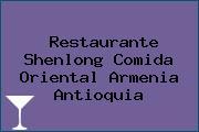 Restaurante Shenlong Comida Oriental Armenia Antioquia
