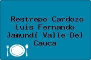 Restrepo Cardozo Luis Fernando Jamundí Valle Del Cauca