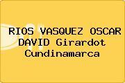 RIOS VASQUEZ OSCAR DAVID Girardot Cundinamarca