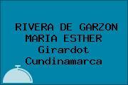 RIVERA DE GARZON MARIA ESTHER Girardot Cundinamarca