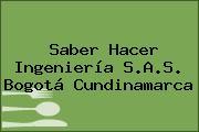 Saber Hacer Ingeniería S.A.S. Bogotá Cundinamarca