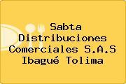 Sabta Distribuciones Comerciales S.A.S Ibagué Tolima