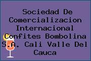 Sociedad De Comercializacion Internacional Confites Bombolina S.A. Cali Valle Del Cauca