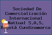 Sociedad De Comercialización Internacional Nattual S.A.S. Bogotá Cundinamarca