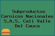 Subproductos Carnicos Nacionales S.A.S. Cali Valle Del Cauca