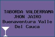 TABORDA VALDERRAMA JHON JAIRO Buenaventura Valle Del Cauca