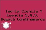 Teoria Ciencia Y Esencia S.A.S. Bogotá Cundinamarca
