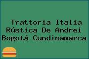 Trattoria Italia Rústica De Andrei Bogotá Cundinamarca