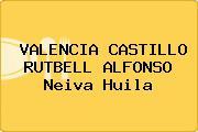 VALENCIA CASTILLO RUTBELL ALFONSO Neiva Huila