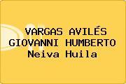 VARGAS AVILÉS GIOVANNI HUMBERTO Neiva Huila