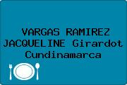 VARGAS RAMIREZ JACQUELINE Girardot Cundinamarca