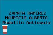 ZAPATA RAMÍREZ MAURICIO ALBERTO Medellín Antioquia