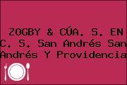 ZOGBY & CÚA. S. EN C. S. San Andrés San Andrés Y Providencia