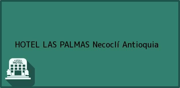 Teléfono, Dirección y otros datos de contacto para HOTEL LAS PALMAS, Necoclí, Antioquia, Colombia