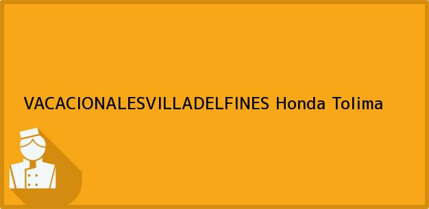 Teléfono, Dirección y otros datos de contacto para VACACIONALESVILLADELFINES, Honda, Tolima, Colombia