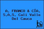 A. FRANCO & CÍA. S.A.S. Cali Valle Del Cauca