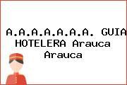 A.A.A.A.A.A.A. GUIA HOTELERA Arauca Arauca
