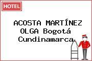 ACOSTA MARTÍNEZ OLGA Bogotá Cundinamarca