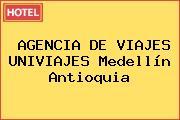 AGENCIA DE VIAJES UNIVIAJES Medellín Antioquia