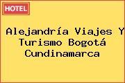 Alejandría Viajes Y Turismo Bogotá Cundinamarca