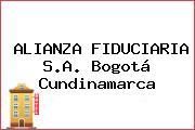 ALIANZA FIDUCIARIA S.A. Bogotá Cundinamarca