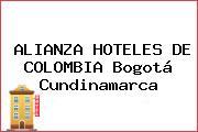 ALIANZA HOTELES DE COLOMBIA Bogotá Cundinamarca