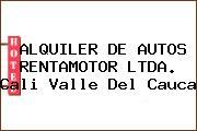 ALQUILER DE AUTOS RENTAMOTOR LTDA. Cali Valle Del Cauca