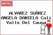ALVAREZ SUÁREZ ANGELA DANIELA Cali Valle Del Cauca