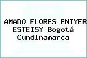 AMADO FLORES ENIYER ESTEISY Bogotá Cundinamarca