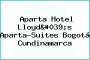 Aparta Hotel Lloyd's Aparta-Suites Bogotá Cundinamarca
