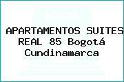 APARTAMENTOS SUITES REAL 85 Bogotá Cundinamarca