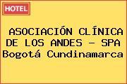 ASOCIACIÓN CLÍNICA DE LOS ANDES - SPA Bogotá Cundinamarca