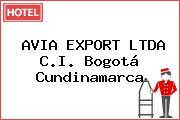 AVIA EXPORT LTDA C.I. Bogotá Cundinamarca