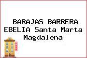 BARAJAS BARRERA EBELIA Santa Marta Magdalena