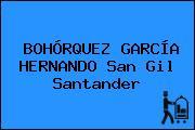 BOHÓRQUEZ GARCÍA HERNANDO San Gil Santander