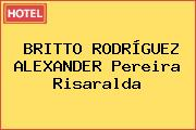 BRITTO RODRÍGUEZ ALEXANDER Pereira Risaralda