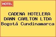 CADENA HOTELERA DANN CARLTON LTDA Bogotá Cundinamarca