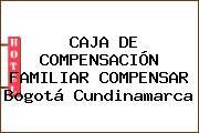 CAJA DE COMPENSACIÓN FAMILIAR COMPENSAR Bogotá Cundinamarca