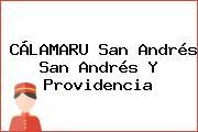 CÁLAMARU San Andrés San Andrés Y Providencia