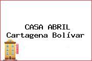 CASA ABRIL Cartagena Bolívar