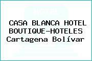 CASA BLANCA HOTEL BOUTIQUE-HOTELES Cartagena Bolívar