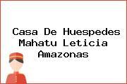 Casa De Huespedes Mahatu Leticia Amazonas